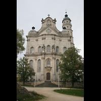 Neresheim, Abteikirche, Fassade