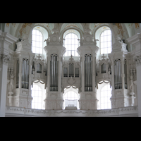 Neresheim, Abteikirche, Orgel