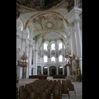 Neresheim, Abteikirche, Innenraum