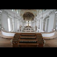 Neresheim, Abteikirche, Freistehender Spieltisch