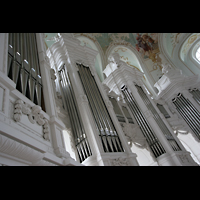 Neresheim, Abteikirche, Orgelprospekt