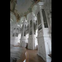 Neresheim, Abteikirche, Orgel seitlich