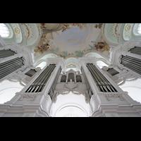 Neresheim, Abteikirche, Orgel perspektivisch
