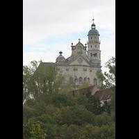 Neresheim, Abteikirche, Außenansicht