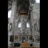 Nürnberg (Nuremberg), St. Lorenz (Positiv), Chororgel im Chorraum
