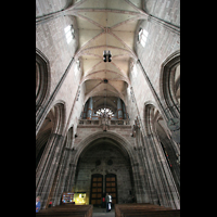 Nürnberg (Nuremberg), St. Lorenz (Positiv), Hauptschiff mit Orgel