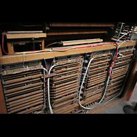 Nürnberg (Nuremberg), St. Lorenz (Positiv), Elektronik im alten Spieltisch