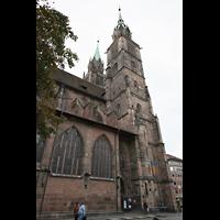Nürnberg (Nuremberg), St. Lorenz (Positiv), Seitenansicht