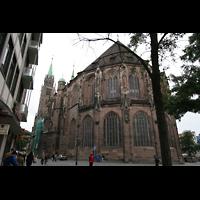 Nürnberg (Nuremberg), St. Lorenz (Positiv), Chor von außen