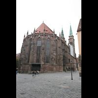 Nürnberg, St. Sebald, Chor von außen