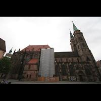 Nürnberg, St. Sebald, Seitenansicht