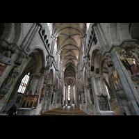 Nürnberg, St. Sebald, Innenraum / Hauptschiff in Richtung Ostchor