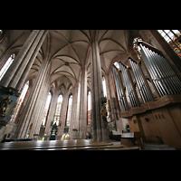 Nürnberg, St. Sebald, Orgel mit Ostchorraum