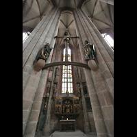 Nürnberg, St. Sebald, Kreuzigungsgruppe von Veit Stoß