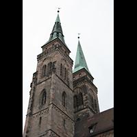 Nürnberg, St. Sebald, Türme