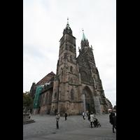 Nürnberg (Nuremberg), St. Lorenz (Positiv), Lorenzer Platz