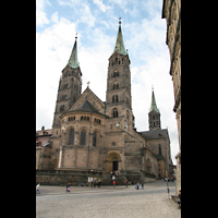 Bamberg, Kaiserdom (Hauptorgelanlage), Gesamtansicht von Osten