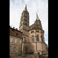 Bamberg, Kaiserdom (Kryptaorgel), Hauptportal am Ostchor
