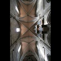 Bamberg, Kaiserdom (Hauptorgelanlage), Gewölbe und Hauptorgel