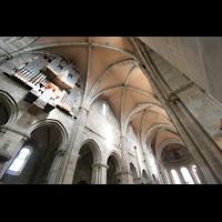Bamberg, Kaiserdom (Kryptaorgel), Hauptschiff mit großer Orgel