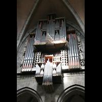 Bamberg, Kaiserdom (Kryptaorgel), Hauptorgel mit Spanischen Trompeten