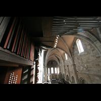 Bamberg, Kaiserdom (Kryptaorgel), Brustwerk und Spanische Trompeten