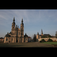 Fulda, Dom St. Salvator (Hochchororgel), Gesamtansicht