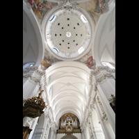Fulda, Dom St. Salvator (Hochchororgel), Kuppel und Orgel