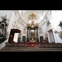 Fulda, Dom St. Salvator (Hochchororgel), Chorraum