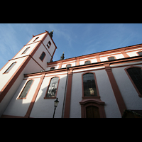 Fulda, Stadtpfarrkirche St. Blasius, Seitenansicht
