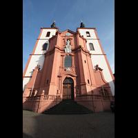 Fulda, Stadtpfarrkirche St. Blasius, Frontansicht