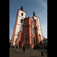 Fulda, Stadtpfarrkirche St. Blasius, Fassade