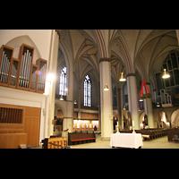 Hamburg, St. Petri, Chororgel und Hauptorgel