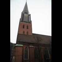 Hamburg, St. Jacobi (Hauptorgel), Turm
