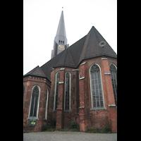 Hamburg, St. Jacobi (Hauptorgel), Chor von außen
