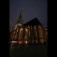 Hamburg, St. Jacobi (Hauptorgel), St. Jacobi bei Nacht