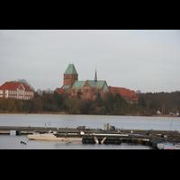 Ratzeburg, Dom (Hauptorgel), Domsee mit Dom