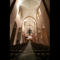 Ratzeburg, Dom (Hauptorgel), Innenraum / Hauptschiff in Richtung Chor