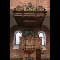 Ratzeburg, Dom (Hauptorgel), Kanzel