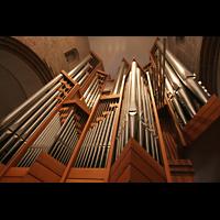 Ratzeburg, Dom (Hauptorgel), Rückpositiv und Orgelprospekt