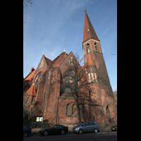 Berlin (Tiergarten), Heilig-Geist-Kirche Moabit, Außenansicht