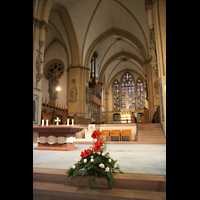 Paderborn, Dom St. Maria, St. Liborius und St. Kilian, Chorraum mit Chororgel
