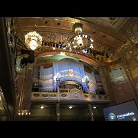 Budapest, Zeneakadémia (Franz-Liszt-Akademie), Orgelbühne