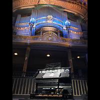 Budapest, Zeneakadémia (Franz-Liszt-Akademie), Orgel mit Spieltisch