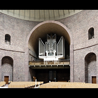 Karlsruhe, St. Stephanus, Blick zur Orgel
