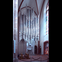 Mainz, St. Stephan, Orgel seitlich