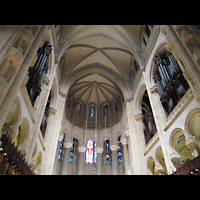 New York (NY), Episcopal Cathedral of St. John the Divine, Chorraum mit Orgeln