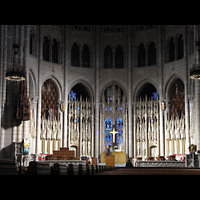 New York (NY), Riverside Church, Christ Chapel, Altarraum