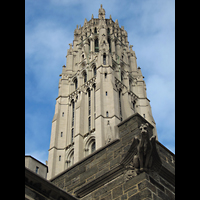 New York (NY), Riverside Church, Christ Chapel, Turm