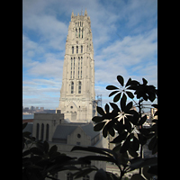 New York (NY), Riverside Church, Christ Chapel, Außenansicht